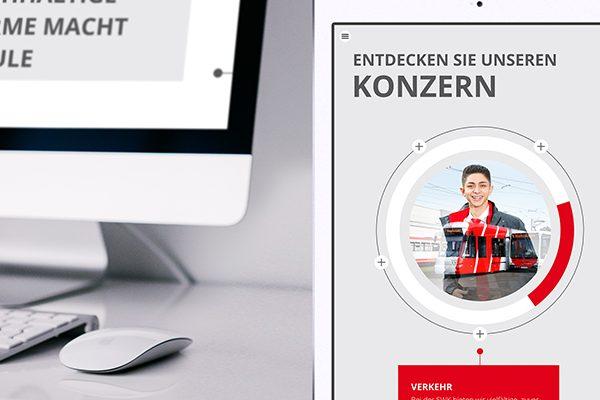 Online-Geschäftsbericht der SWK